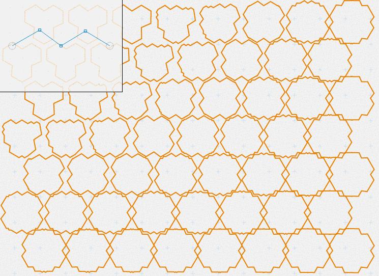 Pattern Gradient, Variant