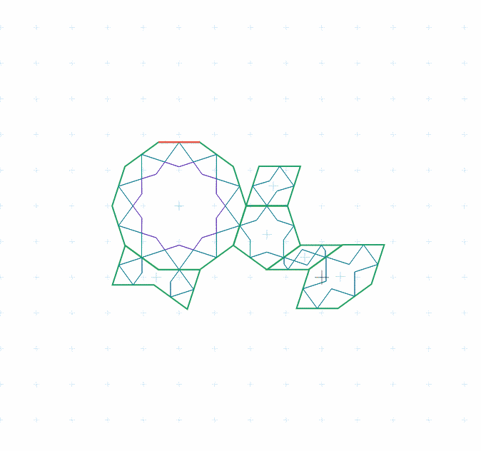 Port of a Girih pattern
